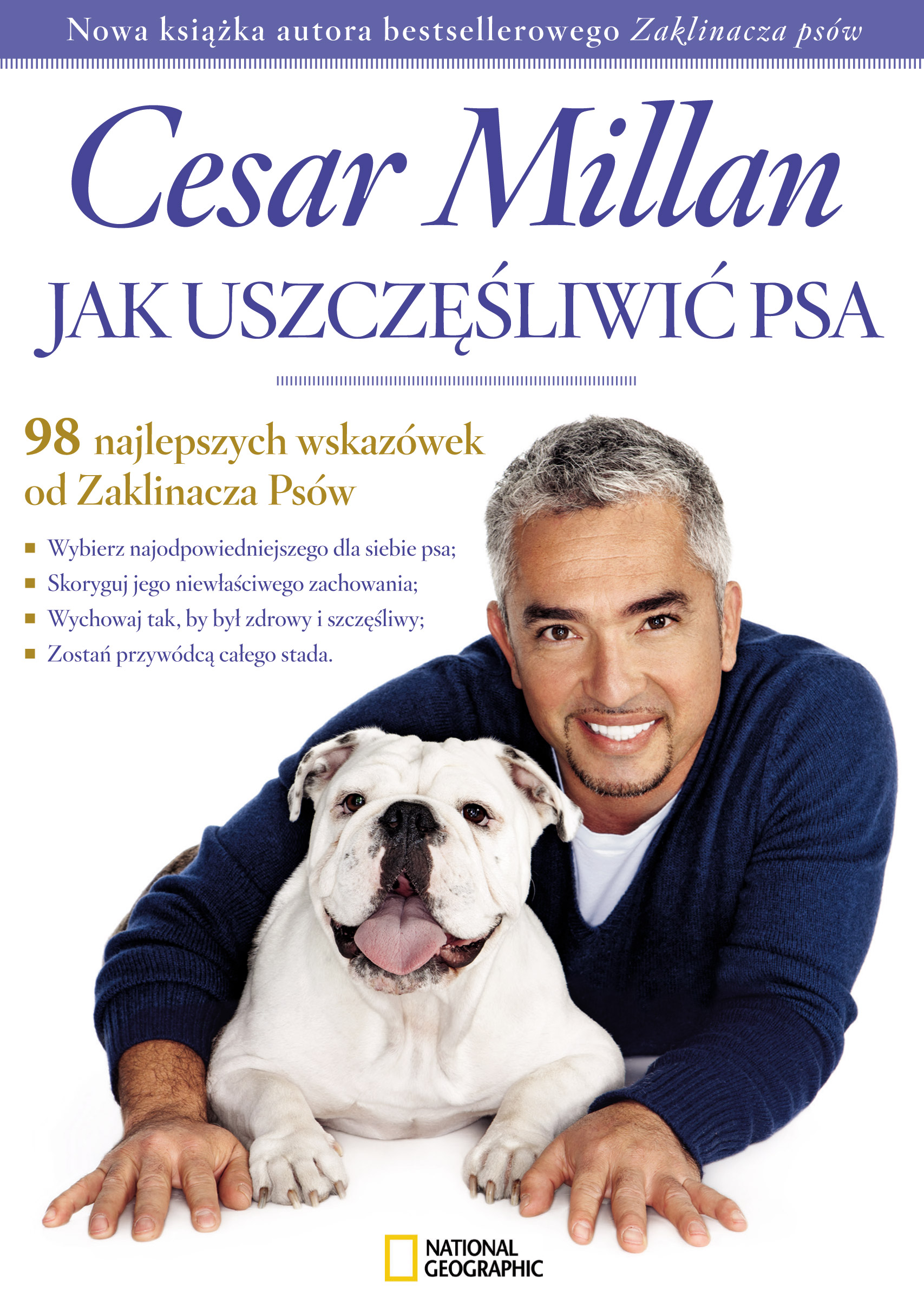 jak uszczęśliwić psa cesar millan