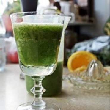 Poranne zielone smoothie