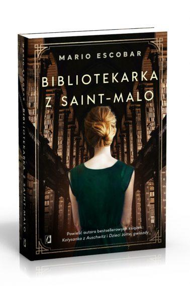 Biblitekarka z SaintMalo 3D
