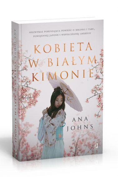 Kobieta w bialym kimonie 3D
